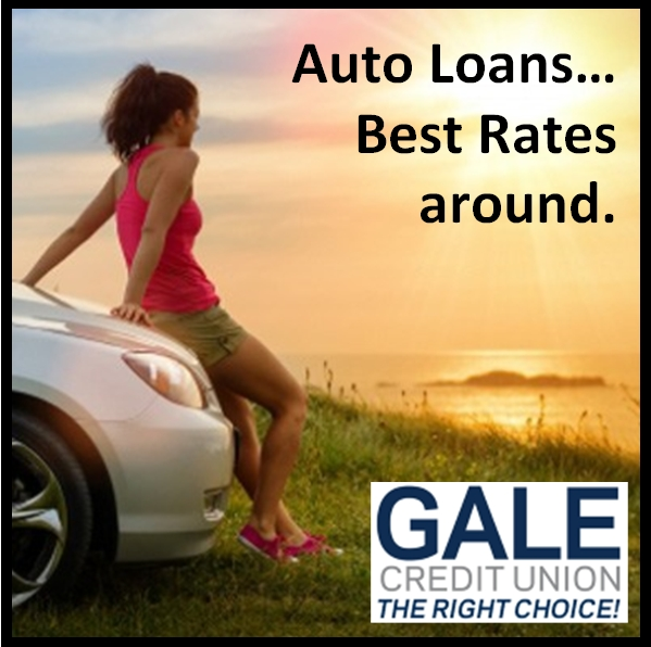 Auto Loans...some of the Best Rates around